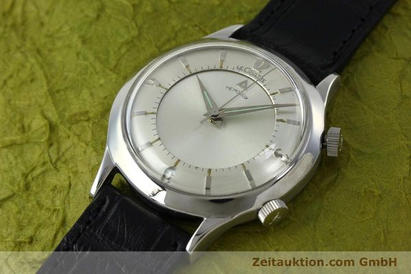 Used luxury watch Jaeger Le Coultre Memovox steel manual winding Kal. 814 VINTAGE  | 151923 01