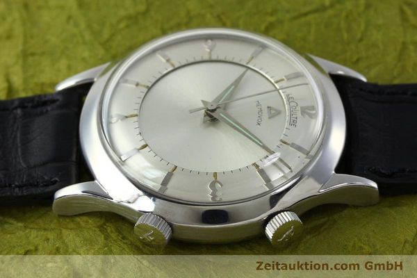 Used luxury watch Jaeger Le Coultre Memovox steel manual winding Kal. 814 VINTAGE  | 151923 05