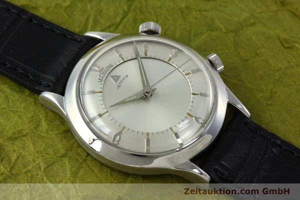 Used luxury watch Jaeger Le Coultre Memovox steel manual winding Kal. 814 VINTAGE  | 151923 14