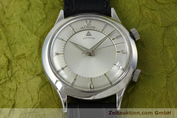 Used luxury watch Jaeger Le Coultre Memovox steel manual winding Kal. 814 VINTAGE  | 151923 15