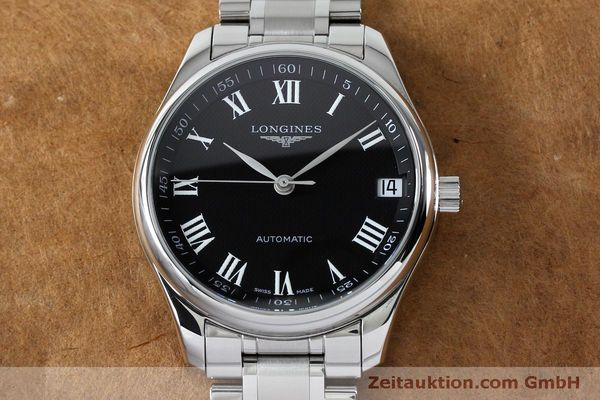 montre de luxe d occasion Longines Master Collection acier automatique Kal. LG91.2 Ref. L2.665.4  | 151924 16