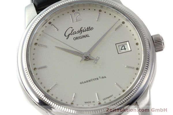 Used luxury watch Glashütte Senator steel automatic Kal. GUB 39  | 151927 02