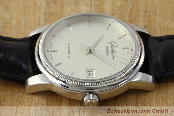 Used luxury watch Glashütte Senator steel automatic Kal. GUB 39  | 151927 05