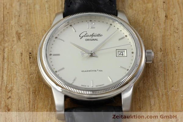 Used luxury watch Glashütte Senator steel automatic Kal. GUB 39  | 151927 14