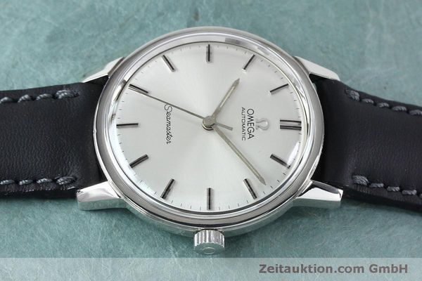 Used luxury watch Omega Seamaster steel automatic Kal. 552 VINTAGE  | 151930 05