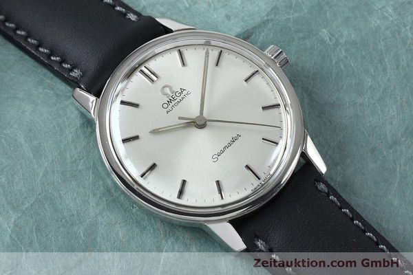 Used luxury watch Omega Seamaster steel automatic Kal. 552 VINTAGE  | 151930 13