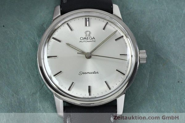 Used luxury watch Omega Seamaster steel automatic Kal. 552 VINTAGE  | 151930 14