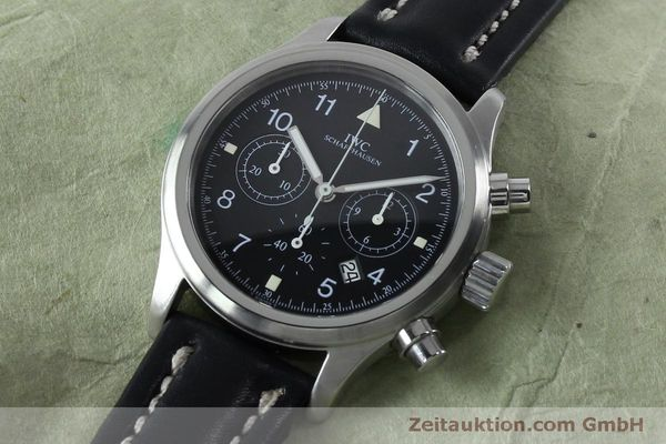 Used luxury watch IWC Fliegerchronograph chronograph steel quartz Kal. 630 Ref. 3741  | 151931 01