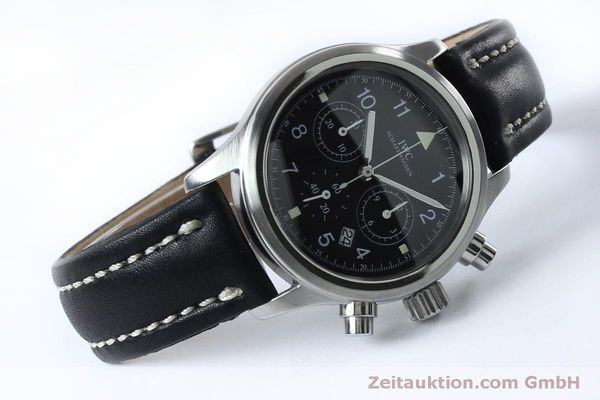 Used luxury watch IWC Fliegerchronograph chronograph steel quartz Kal. 630 Ref. 3741  | 151931 03