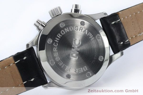 Used luxury watch IWC Fliegerchronograph chronograph steel quartz Kal. 630 Ref. 3741  | 151931 11