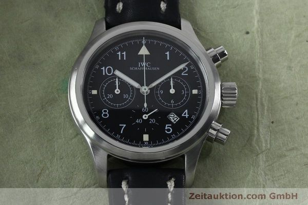 Used luxury watch IWC Fliegerchronograph chronograph steel quartz Kal. 630 Ref. 3741  | 151931 15