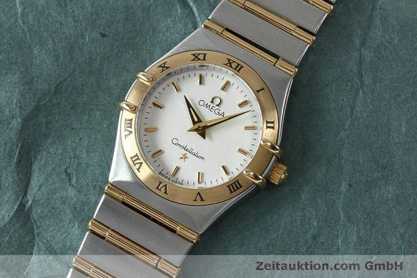 Used luxury watch Omega Constellation steel / gold quartz Kal. 1456  | 151936 01