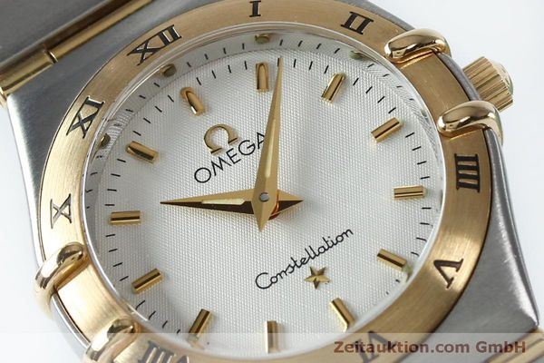 Used luxury watch Omega Constellation steel / gold quartz Kal. 1456  | 151936 02