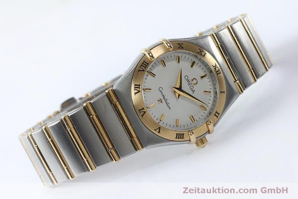 Used luxury watch Omega Constellation steel / gold quartz Kal. 1456  | 151936 03