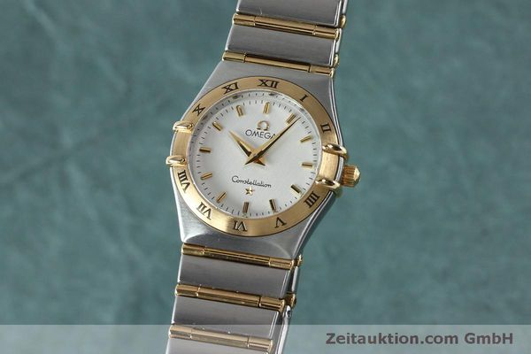 Used luxury watch Omega Constellation steel / gold quartz Kal. 1456  | 151936 04