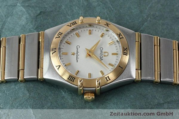 Used luxury watch Omega Constellation steel / gold quartz Kal. 1456  | 151936 05