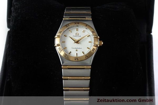 Used luxury watch Omega Constellation steel / gold quartz Kal. 1456  | 151936 07