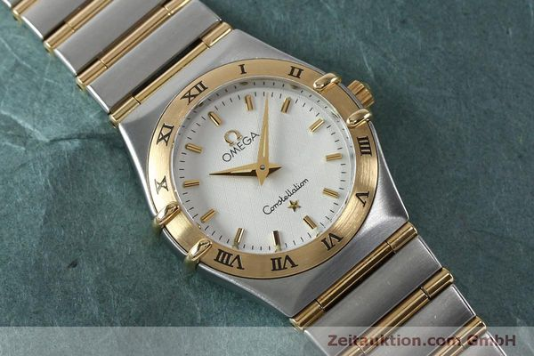 Used luxury watch Omega Constellation steel / gold quartz Kal. 1456  | 151936 13