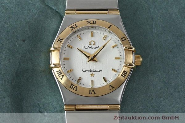 Used luxury watch Omega Constellation steel / gold quartz Kal. 1456  | 151936 14