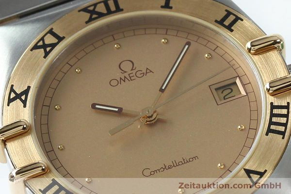 Used luxury watch Omega Constellation steel / gold quartz Kal. ETA 255561  | 151937 02