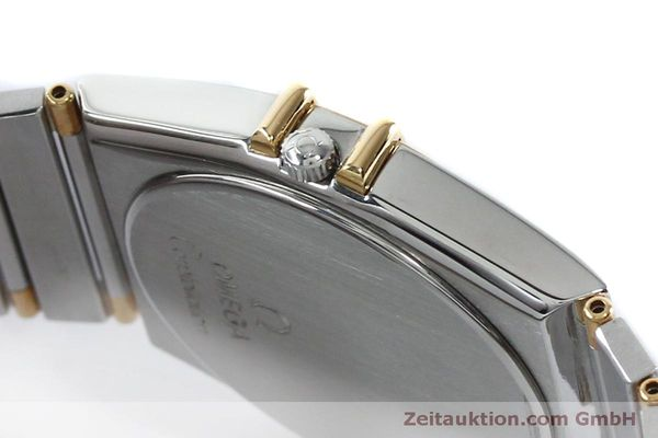 Used luxury watch Omega Constellation steel / gold quartz Kal. ETA 255561  | 151937 08