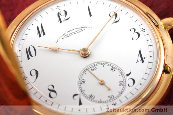Used luxury watch A. Lange & Söhne DUF 14 ct red gold manual winding Kal. 41  | 151938 02