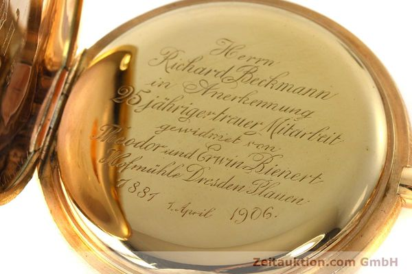 Used luxury watch A. Lange & Söhne DUF 14 ct red gold manual winding Kal. 41  | 151938 11
