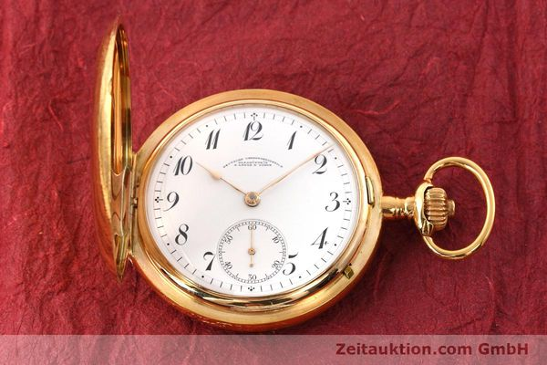 Used luxury watch A. Lange & Söhne DUF 14 ct red gold manual winding Kal. 41  | 151938 18