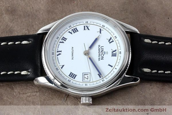 Used luxury watch Union Glashütte * steel automatic Kal. 26-11  | 151940 05