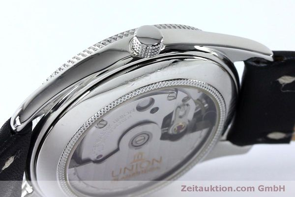 Used luxury watch Union Glashütte * steel automatic Kal. 26-11  | 151940 08