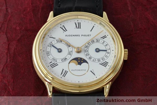 montre de luxe d occasion Audemars Piguet Day-Date Moonphase or 18 ct automatique Kal. 2124  | 151941 15