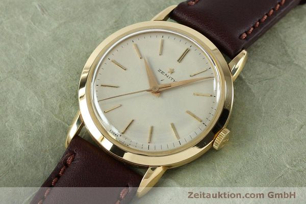 Used luxury watch Zenith * 18 ct gold manual winding Kal. 126-5-6 VINTAGE  | 151943 01