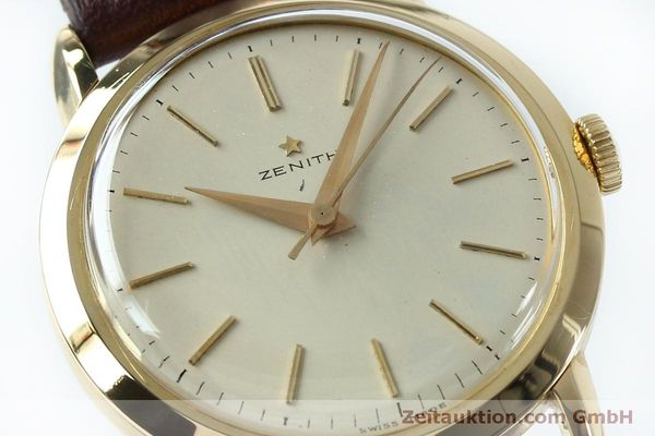 Used luxury watch Zenith * 18 ct gold manual winding Kal. 126-5-6 VINTAGE  | 151943 02