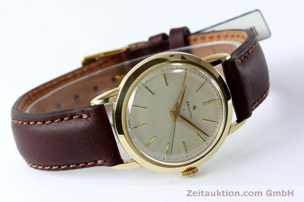 Used luxury watch Zenith * 18 ct gold manual winding Kal. 126-5-6 VINTAGE  | 151943 03