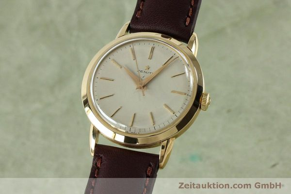 Used luxury watch Zenith * 18 ct gold manual winding Kal. 126-5-6 VINTAGE  | 151943 04