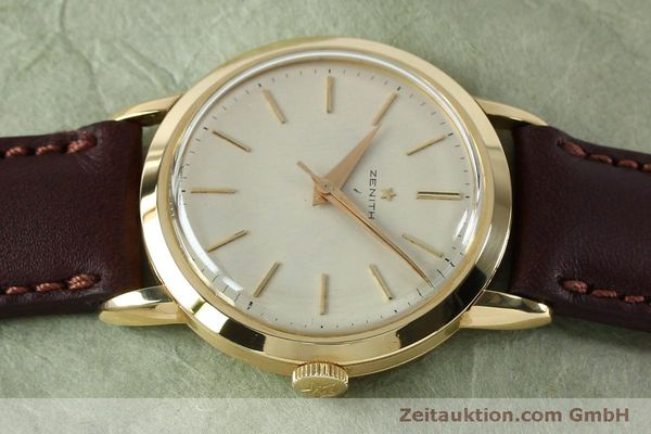 Used luxury watch Zenith * 18 ct gold manual winding Kal. 126-5-6 VINTAGE  | 151943 05