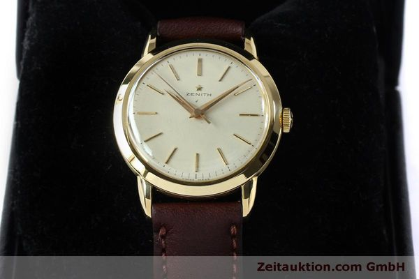 Used luxury watch Zenith * 18 ct gold manual winding Kal. 126-5-6 VINTAGE  | 151943 07