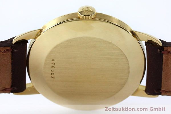 Used luxury watch Zenith * 18 ct gold manual winding Kal. 126-5-6 VINTAGE  | 151943 10