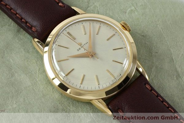 Used luxury watch Zenith * 18 ct gold manual winding Kal. 126-5-6 VINTAGE  | 151943 12
