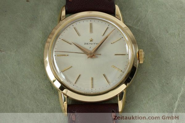 Used luxury watch Zenith * 18 ct gold manual winding Kal. 126-5-6 VINTAGE  | 151943 13
