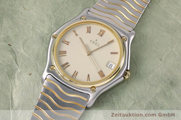 Used luxury watch Ebel Classic Wave steel / gold quartz Kal. 187-1 Ref. 1187141  | 151945 01