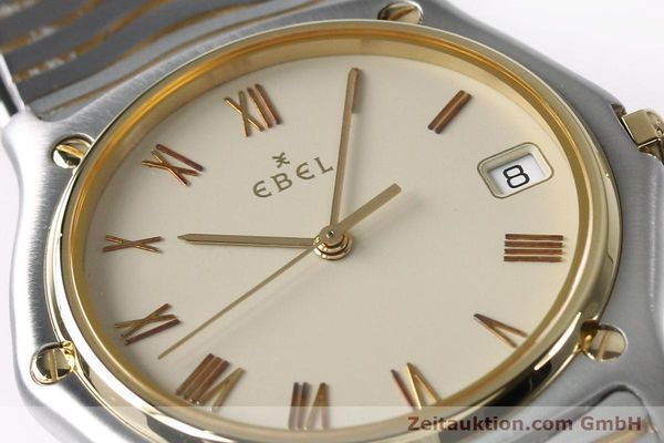 Used luxury watch Ebel Classic Wave steel / gold quartz Kal. 187-1 Ref. 1187141  | 151945 02