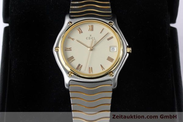 Used luxury watch Ebel Classic Wave steel / gold quartz Kal. 187-1 Ref. 1187141  | 151945 07
