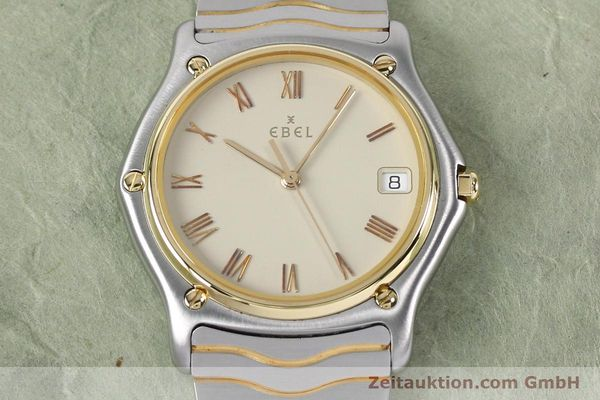 Used luxury watch Ebel Classic Wave steel / gold quartz Kal. 187-1 Ref. 1187141  | 151945 13