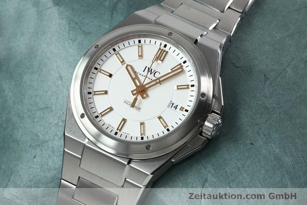 Used luxury watch IWC Ingenieur steel automatic Kal. 30110 Ref. 3239  | 151954 01