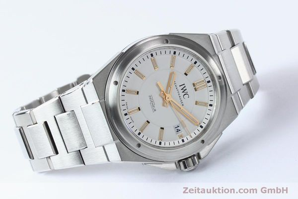 Used luxury watch IWC Ingenieur steel automatic Kal. 30110 Ref. 3239  | 151954 03