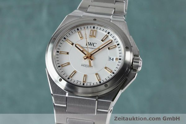 Used luxury watch IWC Ingenieur steel automatic Kal. 30110 Ref. 3239  | 151954 04