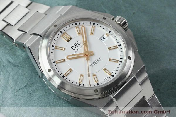Used luxury watch IWC Ingenieur steel automatic Kal. 30110 Ref. 3239  | 151954 16