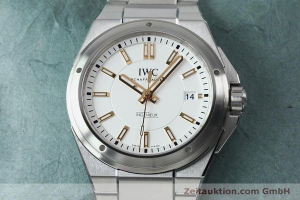 Used luxury watch IWC Ingenieur steel automatic Kal. 30110 Ref. 3239  | 151954 17