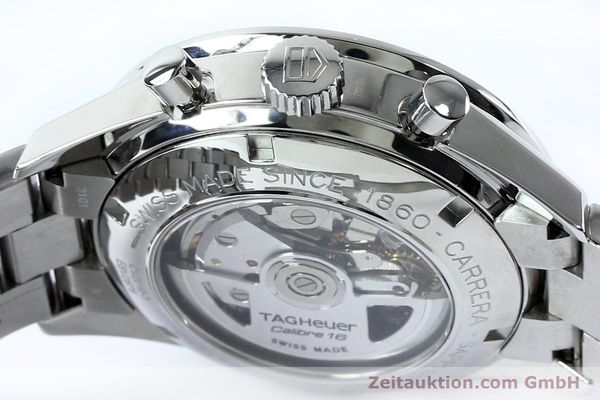 Used luxury watch Tag Heuer Carrera chronograph steel automatic Kal. 16 ETA 7750 Ref. CV20103  | 151956 08